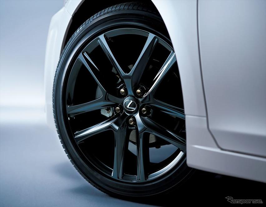 レクサス CT 特別仕様車 215/45R17タイヤ&アルミホイール(特別仕様車専用ブラック塗装&ブラックナット)