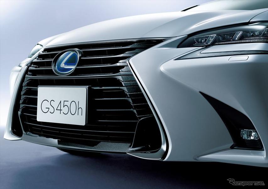 レクサス GS 特別仕様車 スピンドルグリル(特別仕様車専用ブラック塗装)
