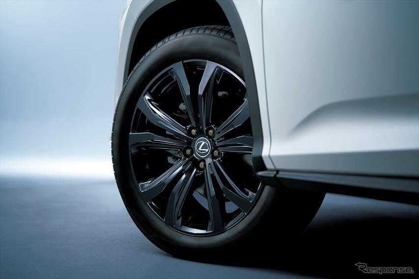 レクサス LX 特別仕様車 オーナメントパネル(特別仕様車専用縞杢[ブラック])