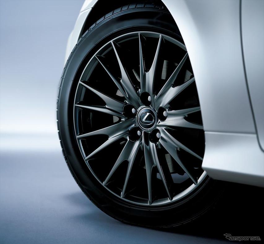 レクサス GS 特別仕様車 235/45R18タイヤ&アルミホイール(特別仕様車専用スパッタリング塗装)