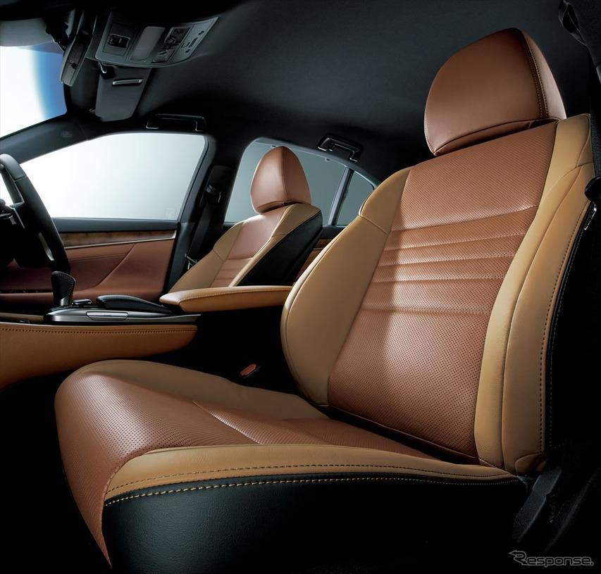 レクサス GS 特別仕様車 本革シート(特別仕様車専用サドルタン/トパーズブラウン)