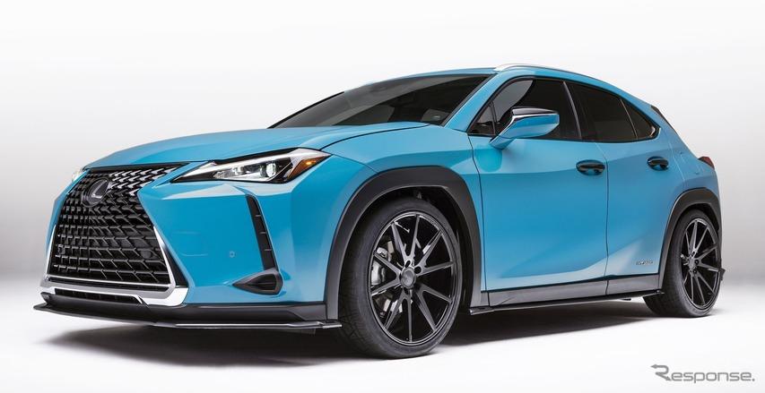 レクサス最小のSUV『UX』、早くもカスタマイズ…ペブルビーチ2018で発表へ