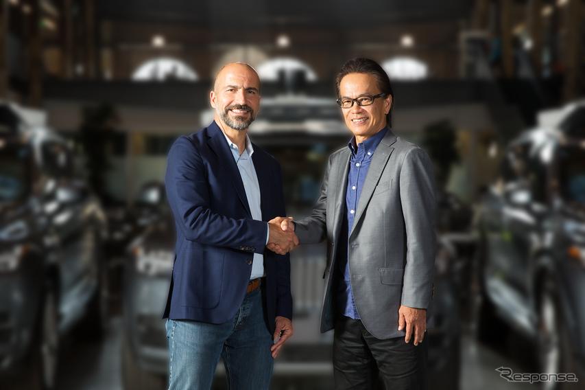 トヨタ、ウーバーに550億円出資して提携拡大…自動運転専用ライドシェアを開発へ