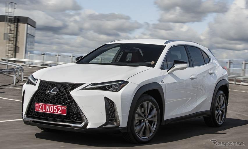 レクサス最小SUV『UX』、欧州仕様車を発表へ…パリモーターショー2018