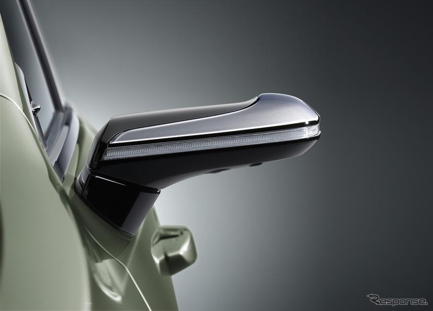 デジタルアウターミラー(レクサスES)