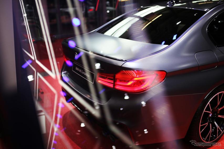 新型BMW M5 コンペティション(パリモーターショー2018)