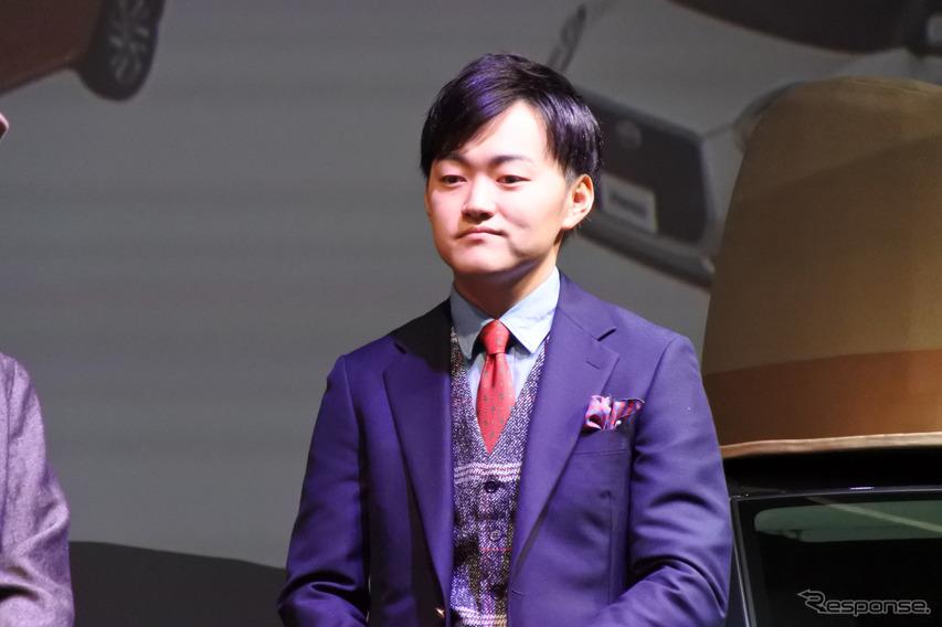 トヨタ自動車国内企画部西祐太朗氏
