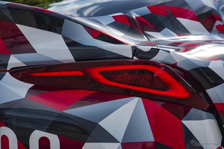 トヨタ・スープラ 新型の開発プロトタイプ車
