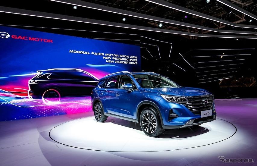 広州汽車が欧州市場に参入、新型SUV発表…パリモーターショー2018