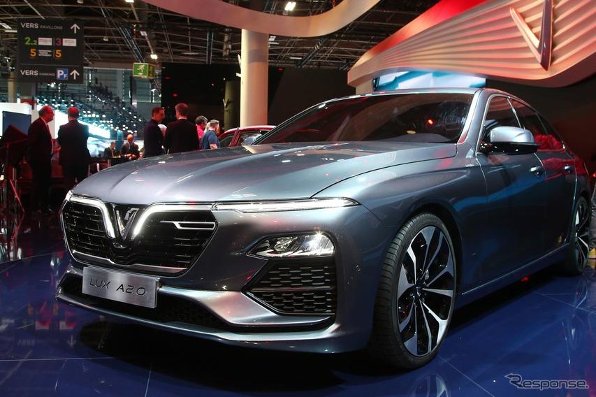 ベトナム初の自動車はセダンとSUV、デザインはピニンファリーナ…パリモーターショー2018