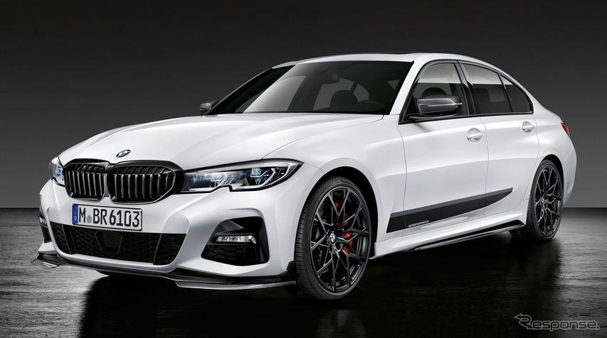 BMW 3シリーズ 新型にMパフォーマンスパーツを設定すると発表…パリモーターショー2018