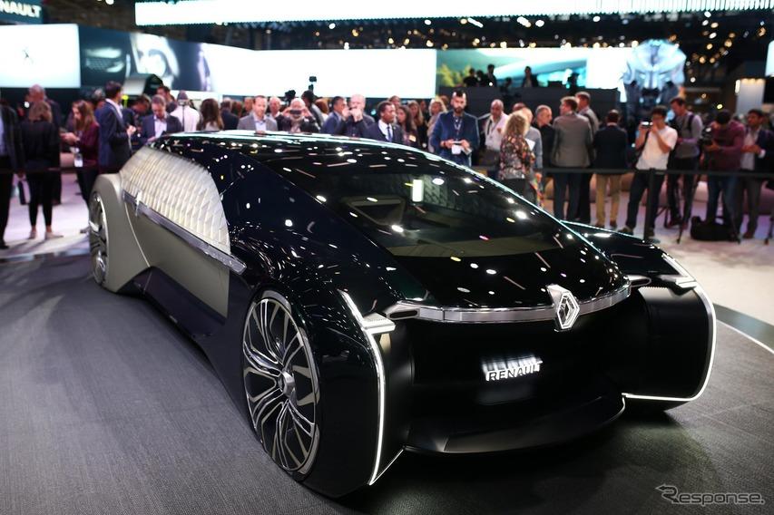 ルノーがEVカーシェア拡大、2022年までに自動運転車導入へ…パリモーターショー2018で発表