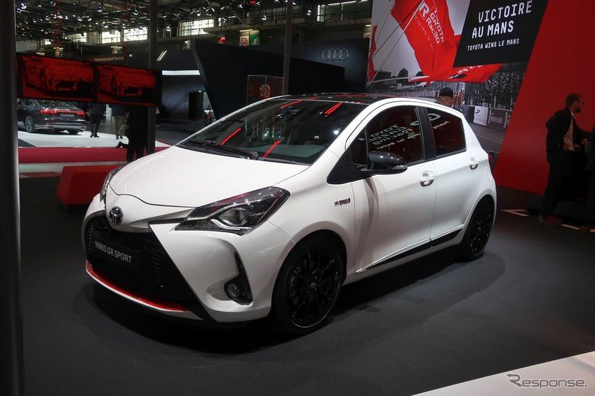 トヨタ・ヤリスGRスポーツ(パリモーターショー2018)