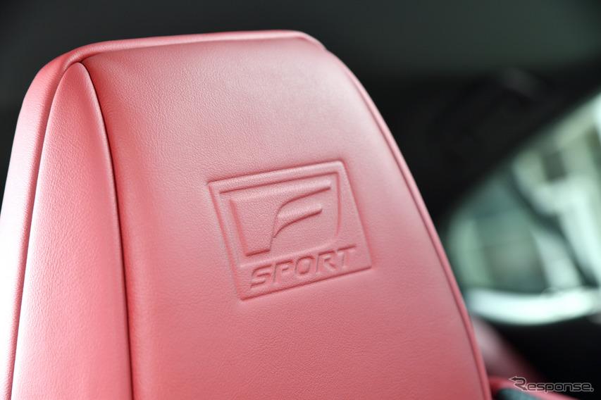 レクサス ES 新型(ES300h F SPORT)