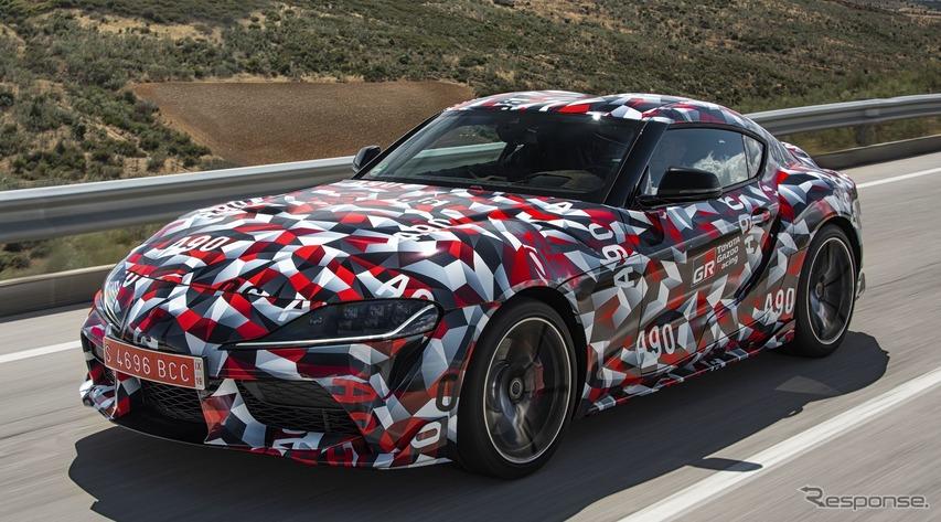 トヨタ スープラ 新型、量産第一号車はワンオフモデルに…オークションに出品へ