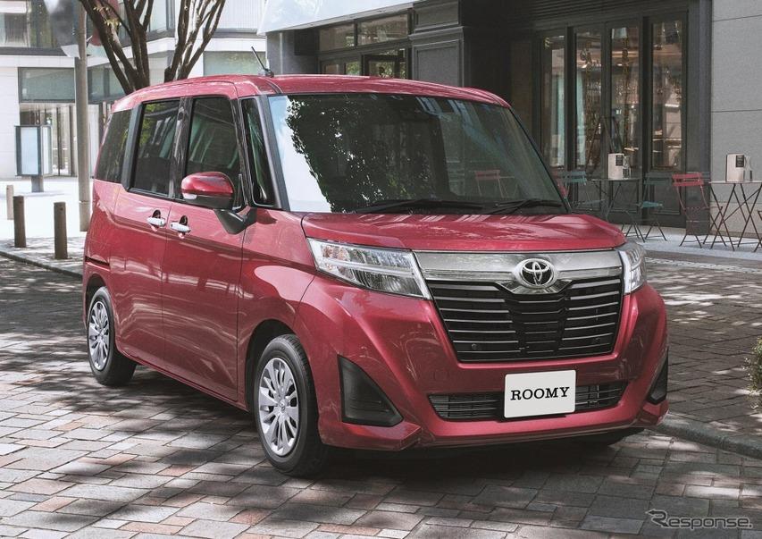 トヨタ・ルーミーGコージーエディション