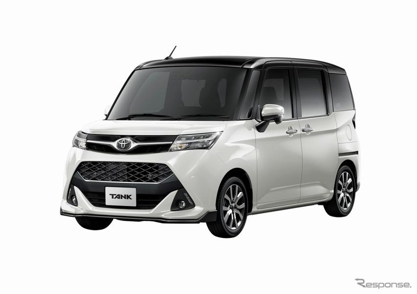 トヨタ・タンクカスタムG-T