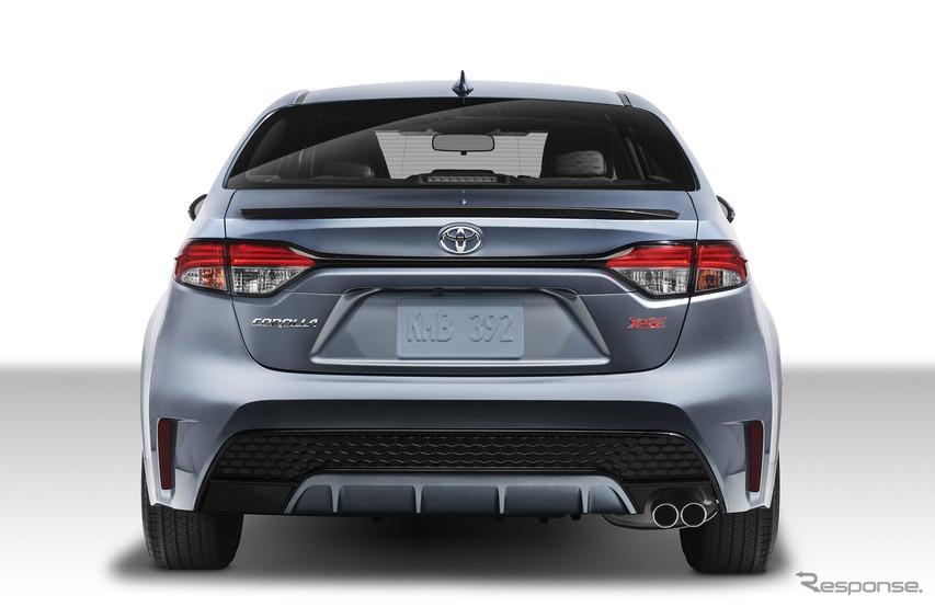 トヨタ・カローラ・セダン新型(米国仕様)