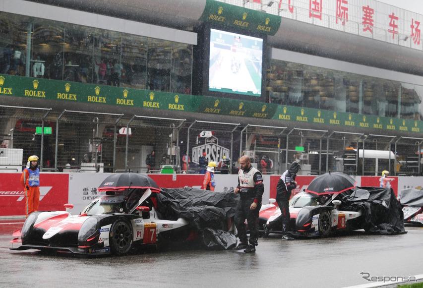 WEC上海戦は雨に翻弄される展開となった。