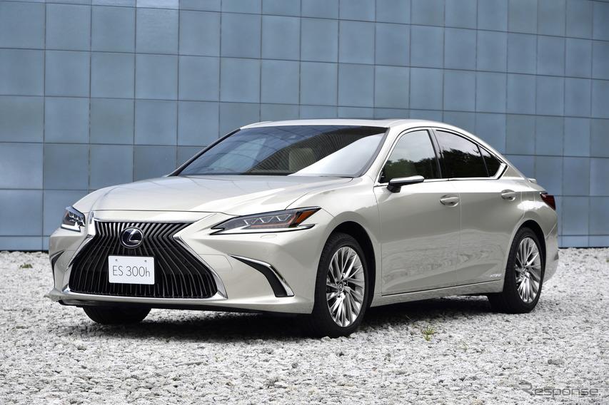 レクサス es 新型 最高評価の5つ星と認定 ユーロncap トヨタ自動車の