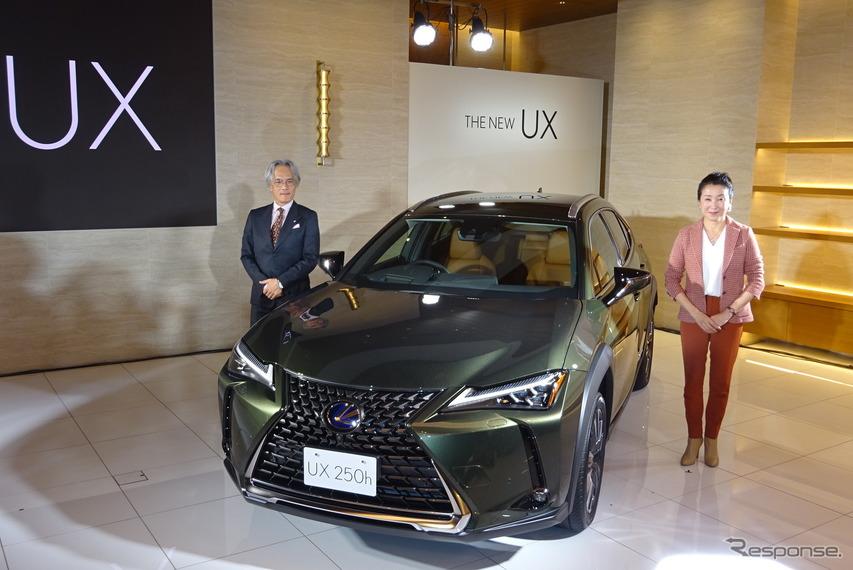 【レクサス UX】澤プレジデント「独自のGA-Cプラットフォームで操縦安定性を追求」