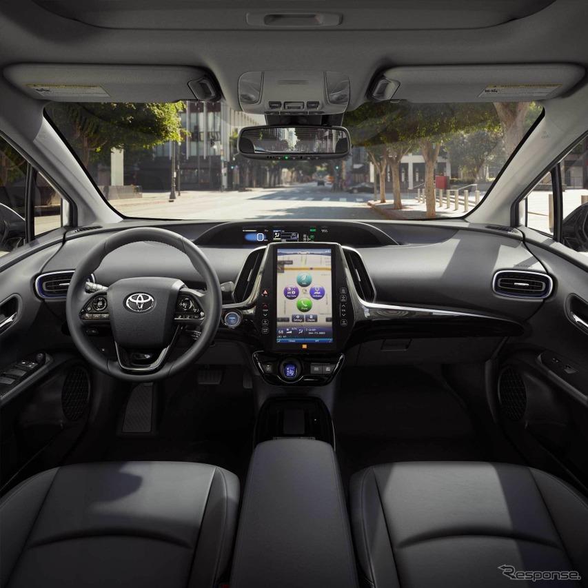 トヨタ・プリウス北米仕様2019年型