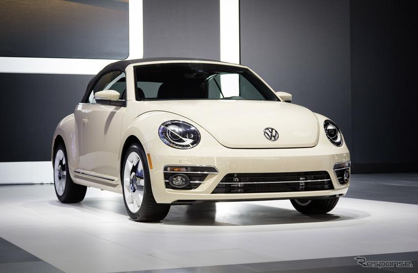 VW ザ・ビートル のファイナルエディション