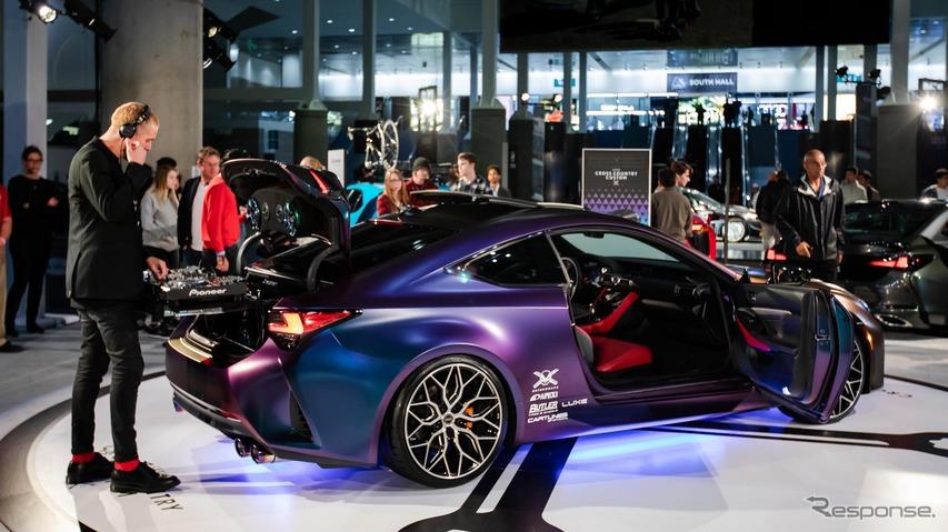 レクサス RC 改良新型、カスタマイズの最終形は移動DJブース…ロサンゼルスモーターショー2018