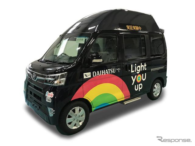 ダイハツ、まちなか自動移動サービス事業構想コンソーシアムへ参画 実証車両を提供
