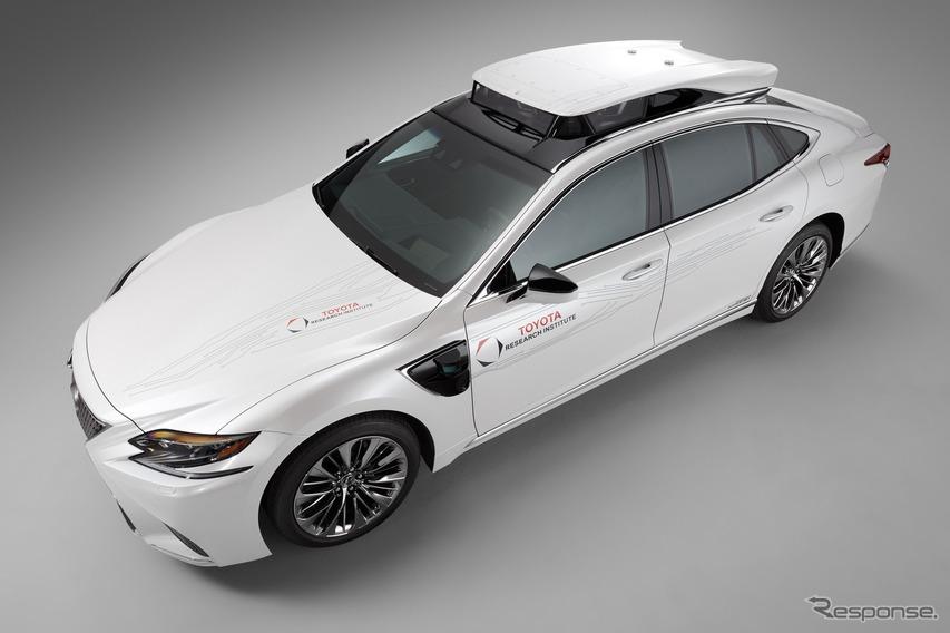 トヨタが新型自動運転実験車、レクサス LS にシステム搭載…CES 2019で発表へ