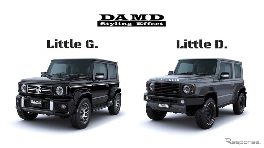 ジムニー Little G.とLittle D.