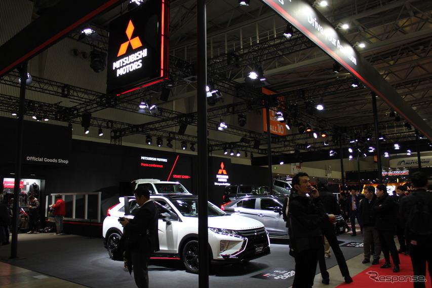 三菱自動車、デリカD:5 新型をお披露目…東京オートサロン2019