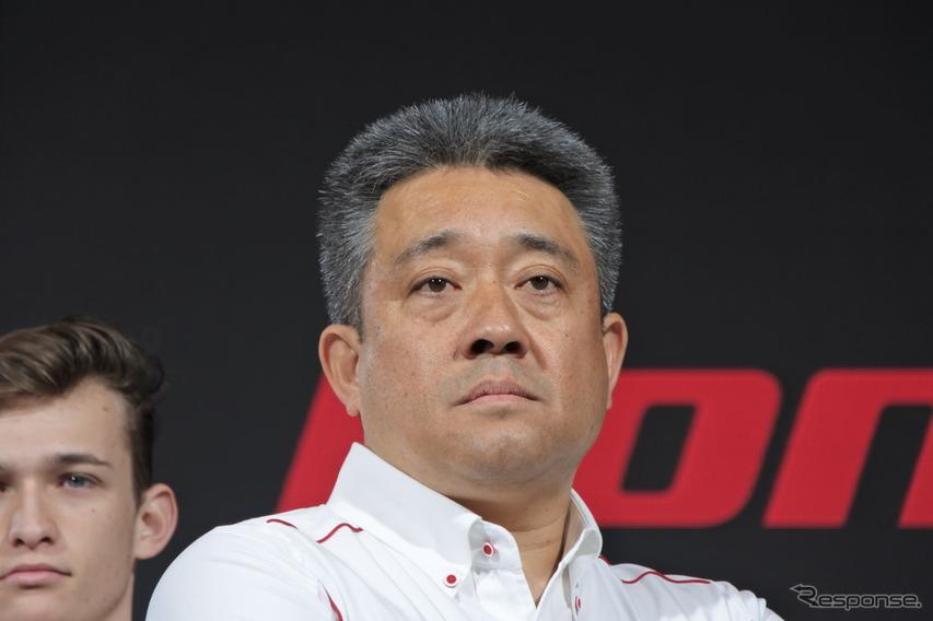 ホンダ 山本雅史モータースポーツ部 部長
