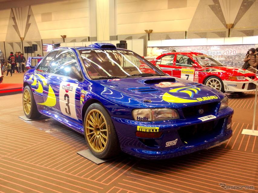 スバル・インプレッサ555(GC8)WRC98、1998年サンレモ仕様(東京オートサロン2019)