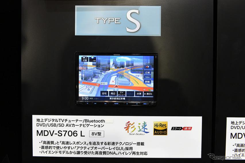 JVCケンウッドブース(東京オートサロン2019)