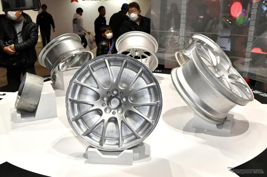 鍛造ホイールの製作過程を公開、BBS…東京オートサロン2019