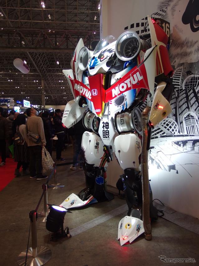 東京オートサロン 無限ブース