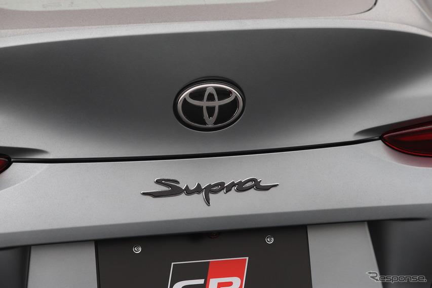 トヨタ スープラ 新型(日本仕様プロトタイプ)