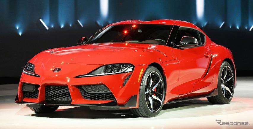 トヨタ スープラ 新型、米国価格は4万9990ドルから…デトロイトモーターショー2019