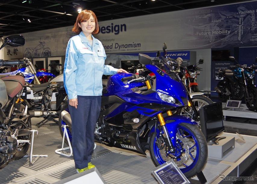 「ブレーキのスペシャリストになりたい」と話す渡邊真帆さん