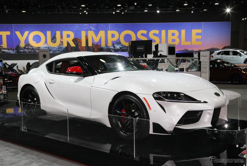 トヨタ スープラ 市販モデルついに出た! 白&赤ボディも登場…デトロイトモーターショー2019[詳細画像]