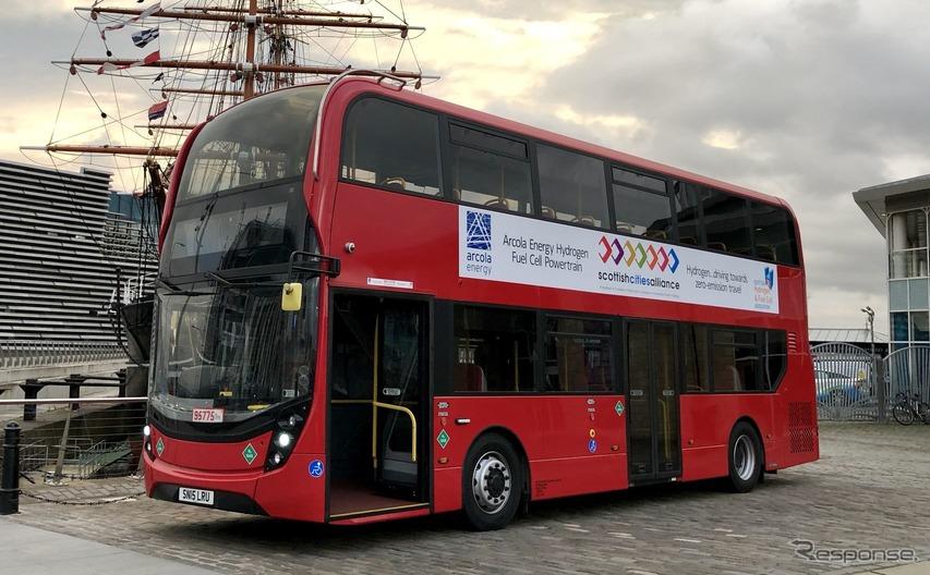 ZFの電動パワートレインを搭載する燃料電池バス