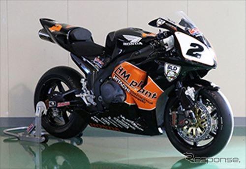 Honda CBR1000RRK(2006年)清成龍一イギリススーパーバイク選手権シリーズチャンピオン
