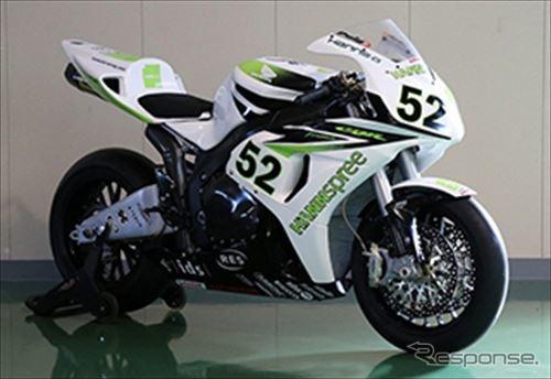 Honda CBR1000RR(2007年)ジェームス・トーズランドスーパーバイク世界選手権シリーズチャンピオン