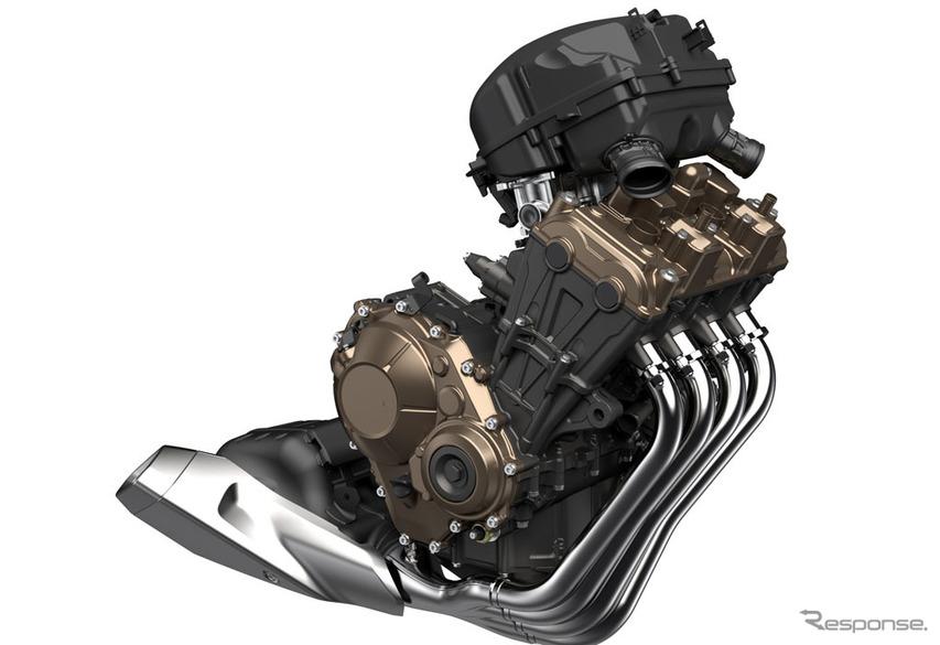 ホンダ CB650R パワーユニット(イメージCG)
