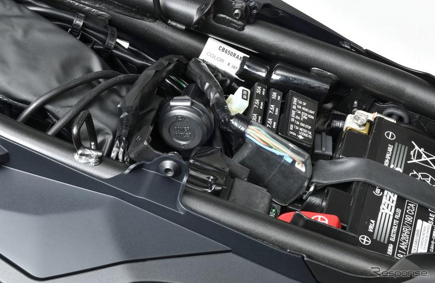 ホンダ CB650R アクセサリーソケット