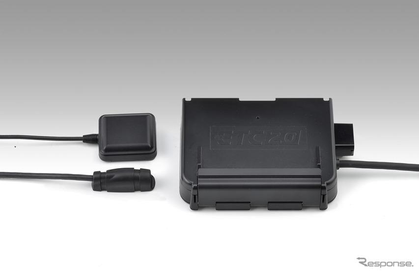 ホンダ二輪ETC2.0車載器キット(アンテナ別体タイプ)