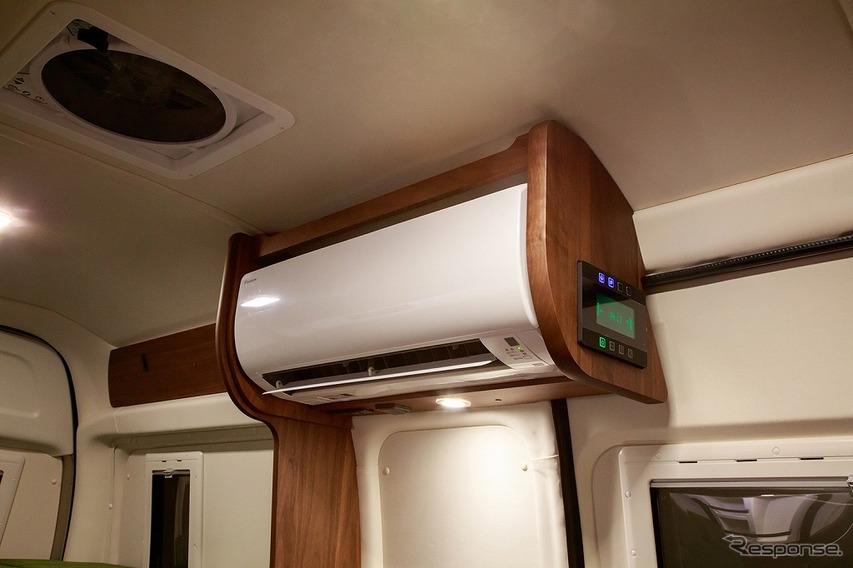 家庭用エアコンもオプション設定可能