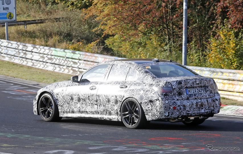 BMW M3セダン 新型スクープ写真
