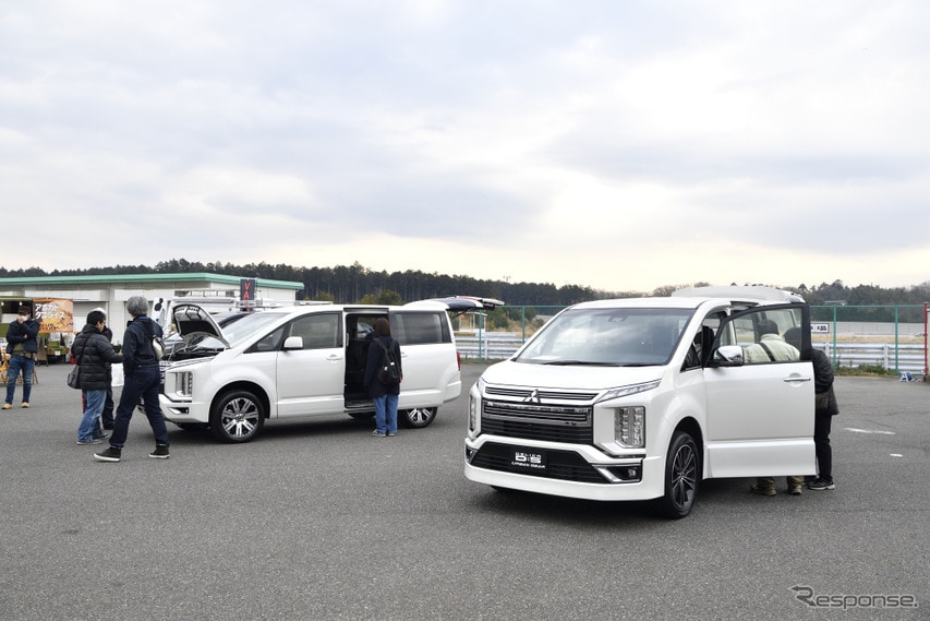 三菱 デリカD:5試乗会